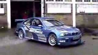 BMW M3 GTR - Need For Speed Copy