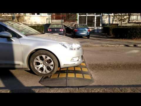 Citroen c5 - Suspension Issue with speed bump test