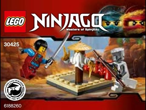 LEGO® Ninjago 30425 CRU Masters/' Training Grounds polybag