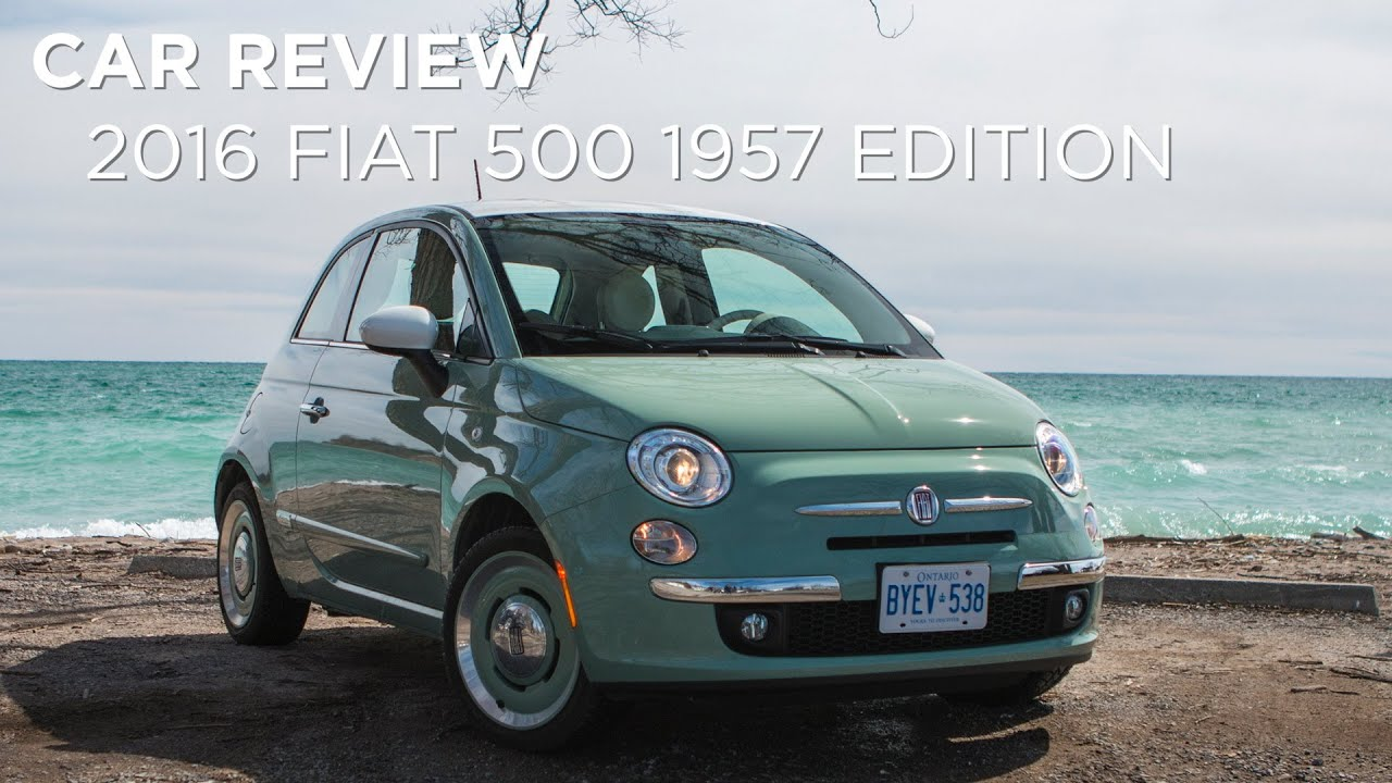 Car Review | 2016 Fiat 500 1957 Edition | Driving.ca - YouTube