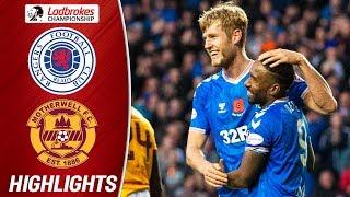 Rangers 2-1 Motherwell | Defoe and Helander Seal Comeback Win! | Ladbrokes Premiership