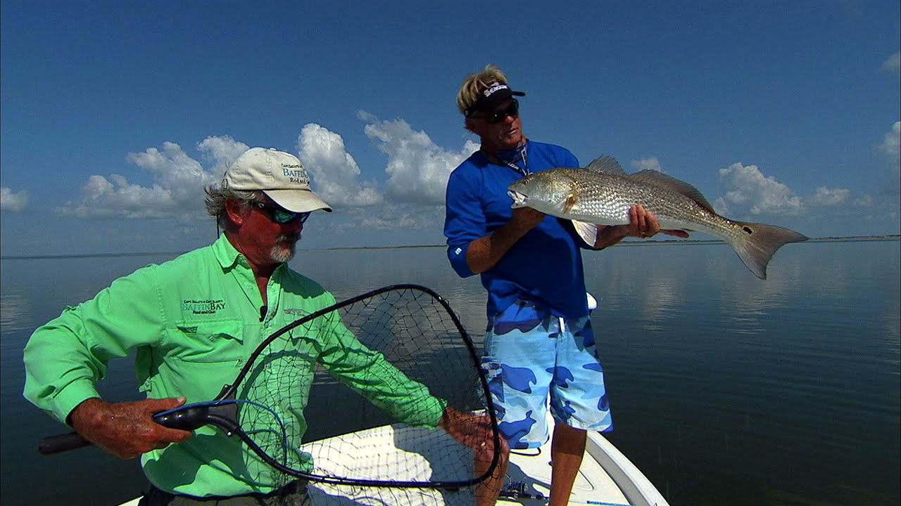 Baffin bay fishing south texas red and sea trout topwater for South texas fishing