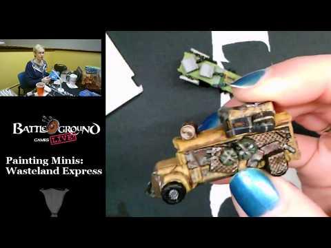 Painting Minis: Wasteland Express