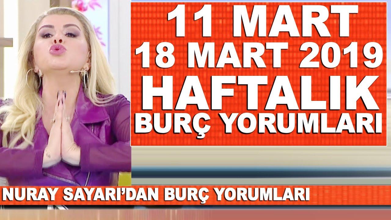 Tüm Burçlar Nuray Sayarıdan Haftalık Burç Yorumları 11 Mart