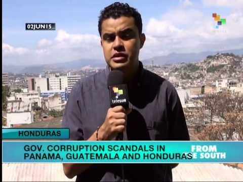 Government Corruption Scandals Rock Panama, Guatemala and Honduras