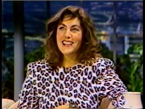 """Laura Branigan - """"Satisfaction"""" LIVE [cc]  & interview. The Tonight Show  1985 (Part 2 of 2)"""