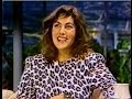 Laura Branigan - Satisfaction LIVE [cc]  & interview. The Tonight Show  1985 (Part 2 of 2)