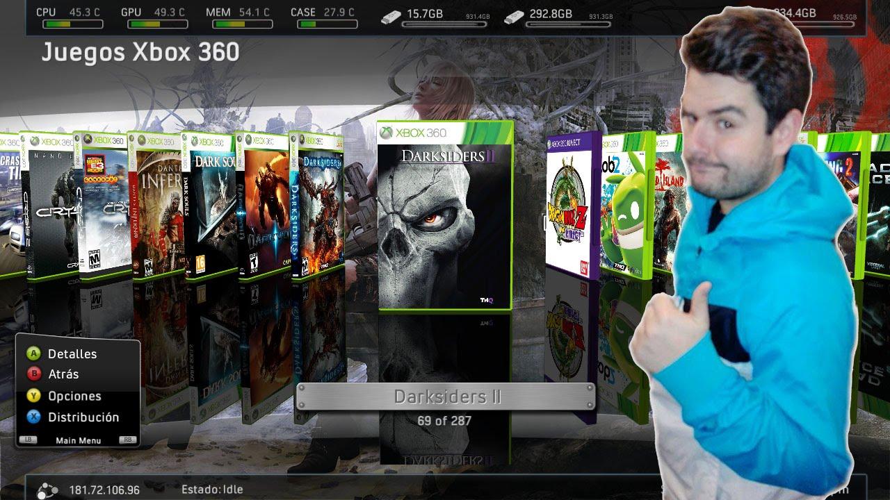 Poner Caratulas En Xbox360 Con Rgh Youtube