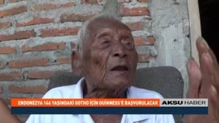 Endonezya'da 146 yaşındaki Gotho için Guinness'e başvurulacak