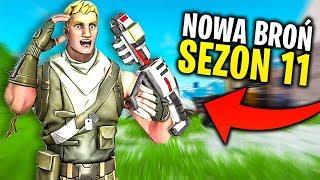 10 NOWYCH BRONI NA SEZON 11 W FORTNITE !! 10 RZECZY !!