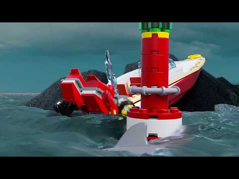 Coast Guard Headquarters - LEGO CITY - 60167 - Product Animation