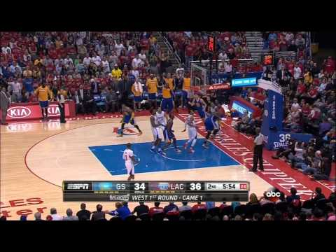 Warriors 2014 Playoffs: R1G1 vs. Clippers