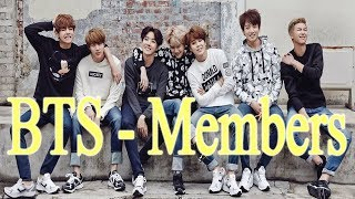 Video BTS Members Profile 2017 | BTS Introduction download MP3, 3GP, MP4, WEBM, AVI, FLV April 2018
