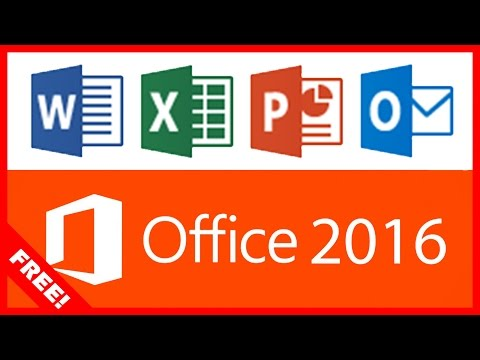 DOWNLOAD MICROSOFT OFFICE 2016 (WORD, EXCEL, POWERPOINT ETC) FOR FREE!! – [PC Tutorial]