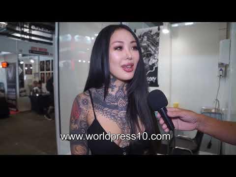 Entrevista con Alisha Gory en el Barcelona Tattoo Expo 2018