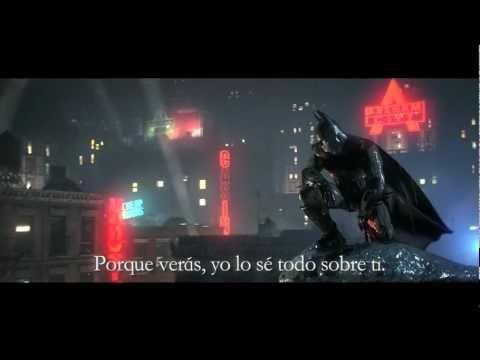 Batman Arkham City trailer español subtitulado