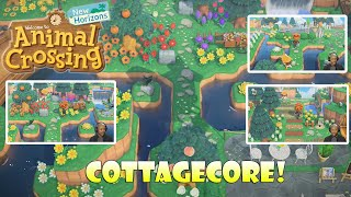 So, This is COTTAGECORE! - Island Tour | Animal Crossing New Horizons