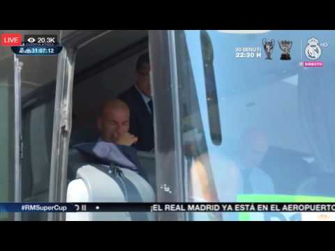 Реал Мадрид пристигнува во Скопје