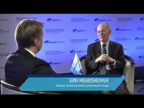 John Mearsheimer: We are Moving to a Multipolar World with Three Great Powers
