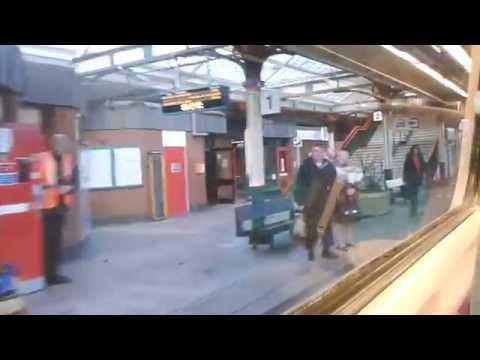 North Wales Coast Line 9.10.14 - Rhyl Abergele Colwyn Bay Llanddulas Old Colwyn Station