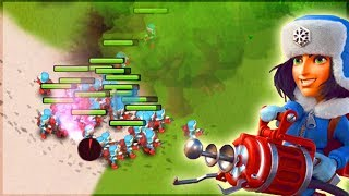 ALL CRYONEERS VS DR. T! Boom Beach CRAZY Attack Strategy!!