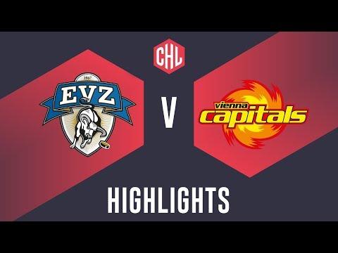 Highlights: EV Zug vs. Vienna Capitals