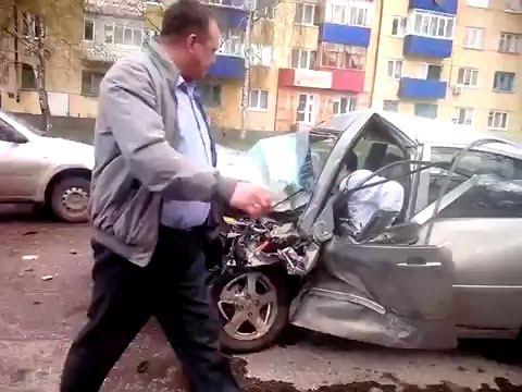Жесткое ДТП. Стерлитамак, Нефтебаза  24.04.2016