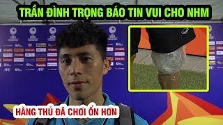 Đình Trọng tuyên bố quyền đi tiếp vẫn trong tầm tay U23 Việt Nam