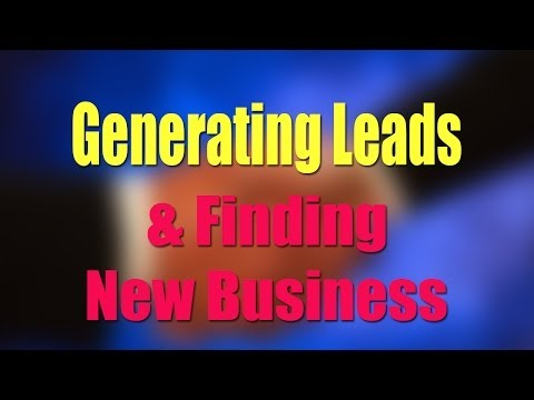 BCL23 Generating Sales Leads and Finding New Business