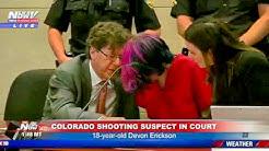 SCHOOL SHOOTING SUSPECT IN COURT: Devon Erickson accused of killing 1, injuring 8