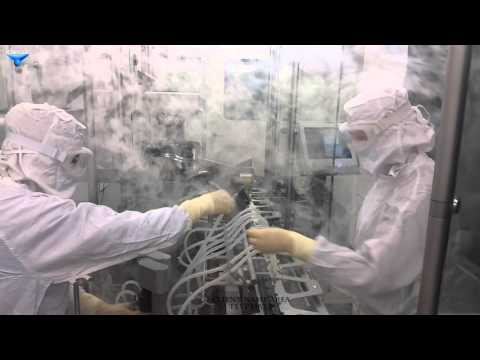 Airflow Visualization Test - Cleanroom