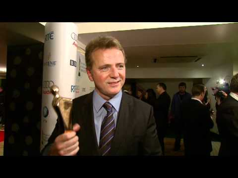 Aidan Quinn interviewed at the Irish Film & Television Awards