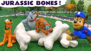 Jurassic Bones Play Doh Paw Patrol Thomas The Tank Engine Scooby Doo Tom and Jerry Mickey Mouse