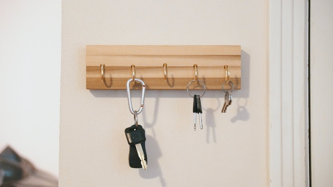 building a key rack