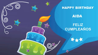Aida - Card Tarjeta_303 - Happy Birthday
