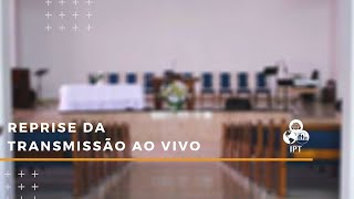 Transmissão ao vivo: 18/10/2020 18h - IPT