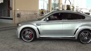 BMW X6 M with Hamann body kit and AC Schnitzer rims & BMW X6 M Hamann
