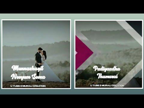 Ammadi Un Azhagu Song Romantic Love Status Tamil Tamil Whatsapp Status Murali Creation Youtube