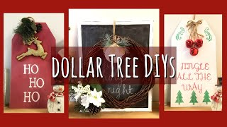 CHRISTMAS DOLLAR TREE DIYS!!!