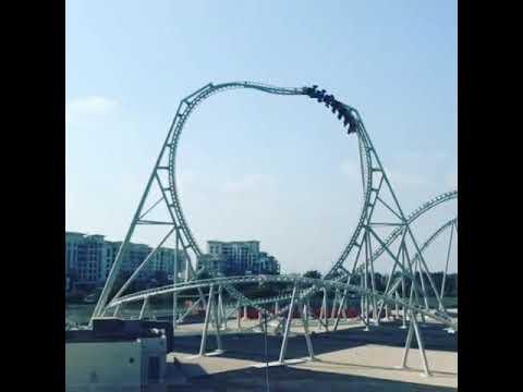 #worldslargest #rollercoaster #ride #Dubai #ferrariworld