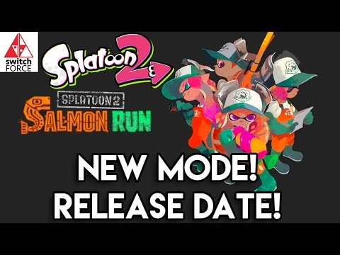 NEW Splatoon 2 Game Mode + Release Date! | Salmon Run