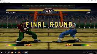 How to play Bloody Roar 2 Multiplayer