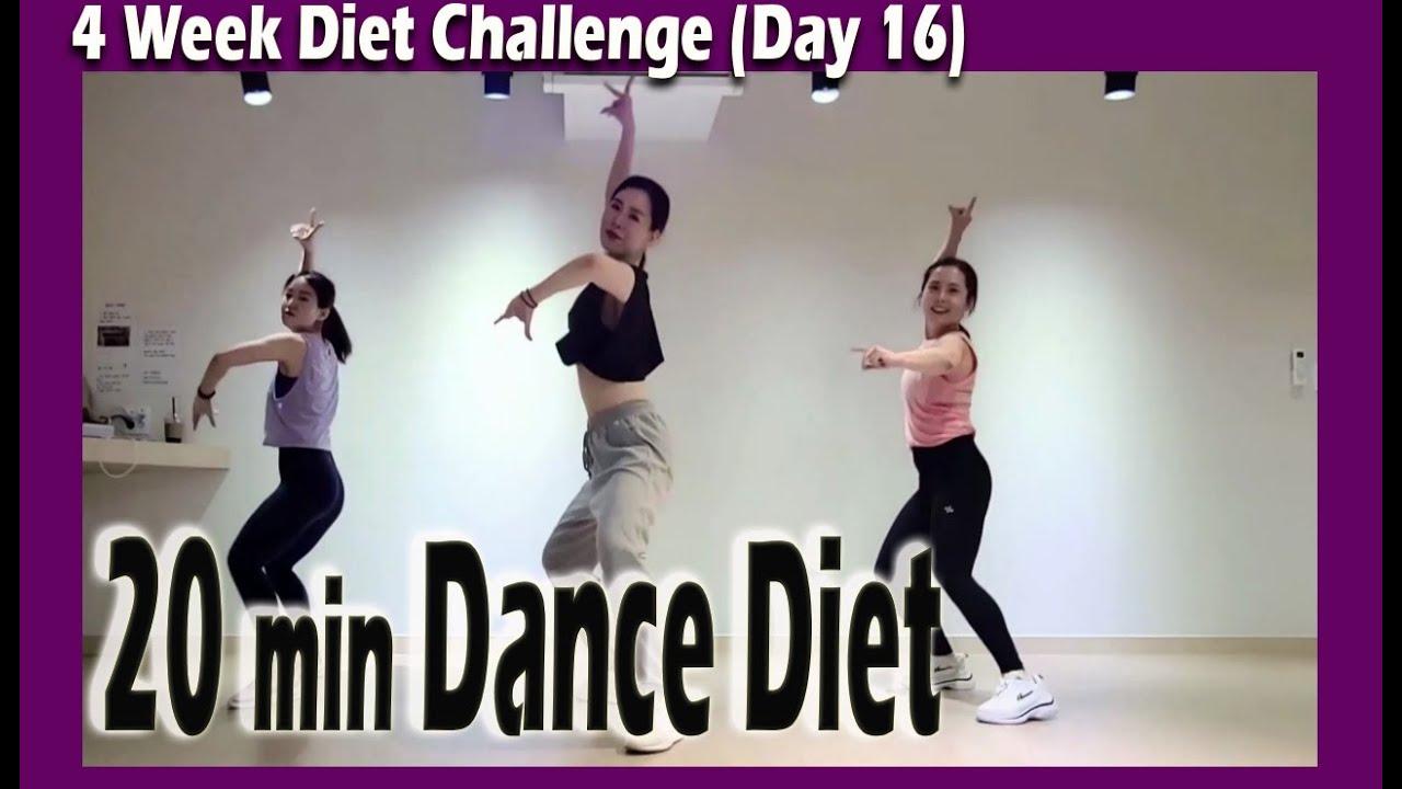 [4 Week Diet Challenge] Day 16 | 20 minute Dance Diet Workout | 20분 댄스다이어트 | Choreo by Sunny | 홈트|