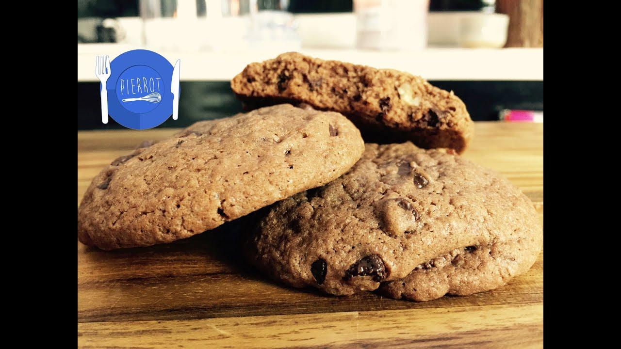 Recette de cookies au chocolat noir ft herv cuisine youtube - Herve cuisine foret noire ...