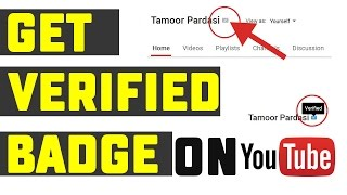 How To Get Verification Badge On Your YouTube Channel Urdu/Hindi Tutorial