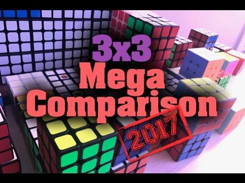 3x3 Mega Comparison - 2017 Edition