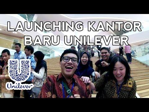 VLOG : First Look Launching Kantor Baru Unilever ! (CEO Global-nya Dateng Juga)