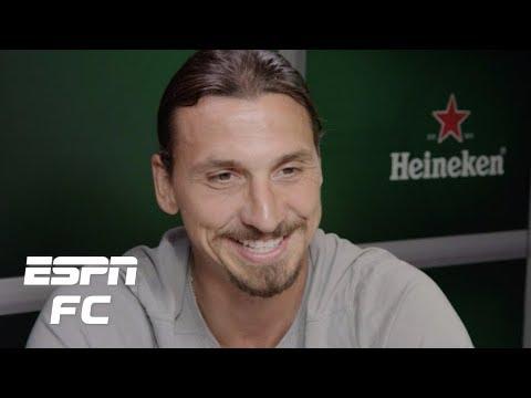 Zlatan Ibrahimovic talks Cristiano Ronaldo, stealing bikes, coaching feuds, more | ESPN FC