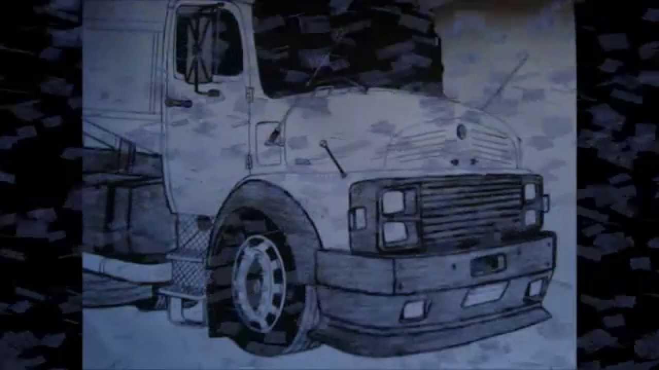 gdd galera do desenho mercedes benz 1518 youtube