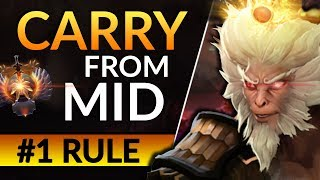 THE SECRET to SNOWBALLING in Mid - Pro Tips to Carry | Dota 2 Middle Gameplay Guide